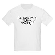 Grandpa's Fishing Buddy T-Shirt