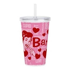 valentine-barf_b.png Acrylic Double-wall Tumbler