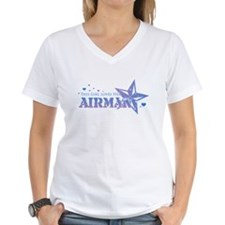 This girl loves her Airman Shirt