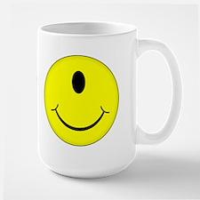 Cyclops Smiley Face Mug