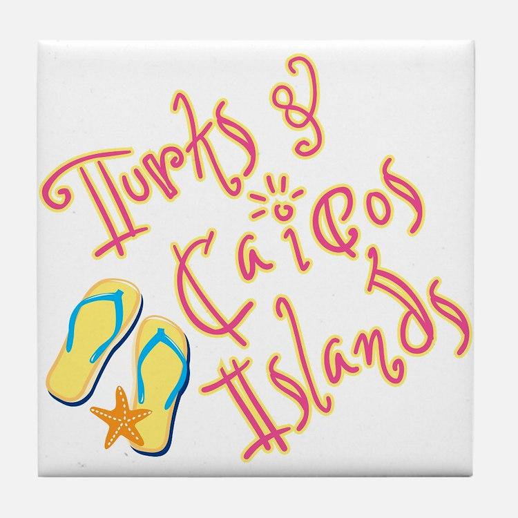 Turks and Caicos - Tile Coaster