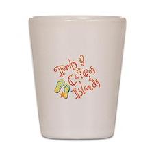 Turks and Caicos - Shot Glass