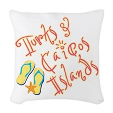 Turks and Caicos - Woven Throw Pillow