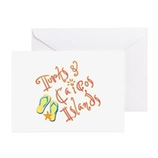 Turks and Caicos - Greeting Cards (Pk of 10)