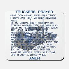 Trucker's Prayer Mousepad