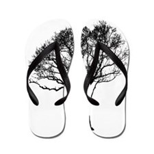 Cute Cancer tree Flip Flops