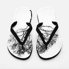 Unique Cancer tree Flip Flops