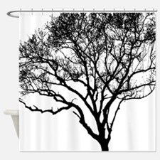 Unique Cancer tree Shower Curtain