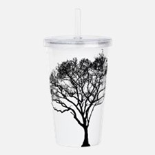 Unique Cancer tree Acrylic Double-wall Tumbler