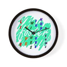 Unique Adoptive parent Wall Clock