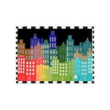 Cityscape Skyline 5'x7'Area Rug