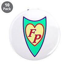 "Cool Foster children 3.5"" Button (10 pack)"