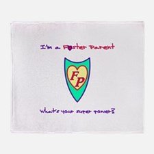 Foster care Throw Blanket