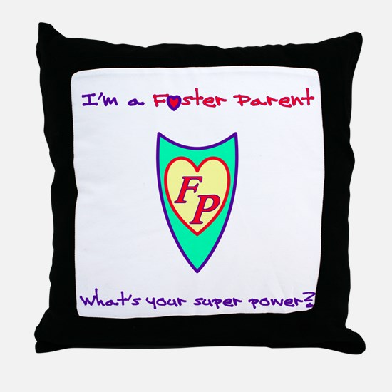 Unique Parenting Throw Pillow