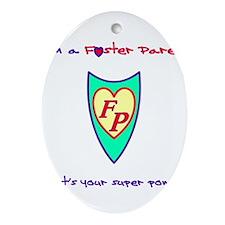 Unique Foster parent Ornament (Oval)