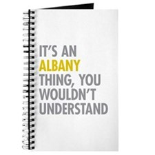 Its An Albany Thing Journal