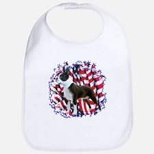 Boston Patriotic Bib