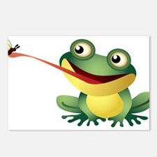 Frog Catching Bug Postcards (Package of 8)