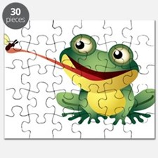 Frog Catching Bug Puzzle