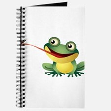 Frog Catching Bug Journal