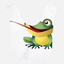 Frog Catching Bug Bib