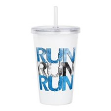 RUN x 3 Acrylic Double-wall Tumbler