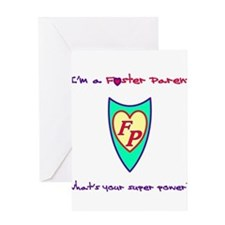 What's your super power? Greeting Cards