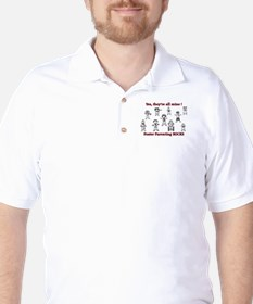 Yes, they're all mine! Golf Shirt