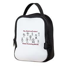 Funny Foster care Neoprene Lunch Bag