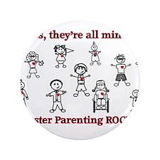 """Cute Foster children 3.5"""" Button (100 pack)"""