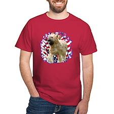Briard Patriotic T-Shirt