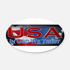 Cute Constitution of the united states Oval Car Magnet