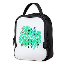 Cute Foster care Neoprene Lunch Bag