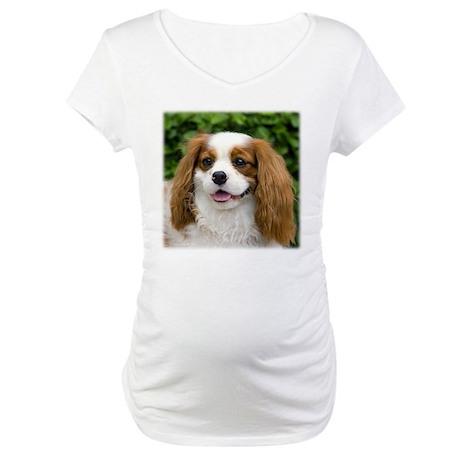 King Charles Spaniel Maternity T-Shirt