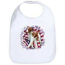 Brittany Patriotic Bib