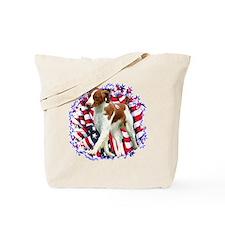 Brittany Patriotic Tote Bag