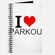 I Love Parkour Journal