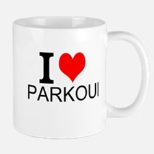 I Love Parkour Mugs