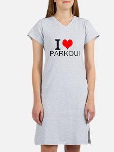 I Love Parkour Women's Nightshirt