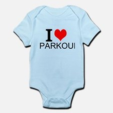 I Love Parkour Body Suit