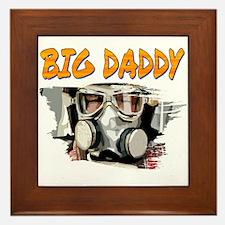 Big Daddy Framed Tile