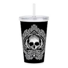 ace-spades-skull_12x18.png Acrylic Double-wall Tum