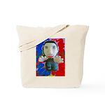 Pop Marc Paul (blu/red) Tote Bag