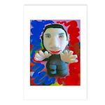 Pop Marc Paul (blu/red) Postcards (Package of 8)