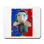 Pop Marc Paul (blu/red) Mousepad
