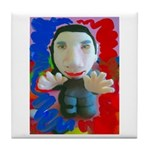 Pop Marc Paul (blu/red) Tile Coaster