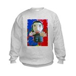 Pop Marc Paul (blu/red) Kids Sweatshirt