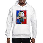 Pop Marc Paul (blu/red) Hooded Sweatshirt