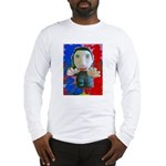 Pop Marc Paul (blu/red) Long Sleeve T-Shirt