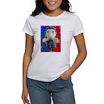Pop Marc Paul (blu/red) Women's T-Shirt